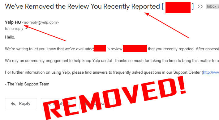 Remove Negative Reviews from Yelp | ReviewVio Products