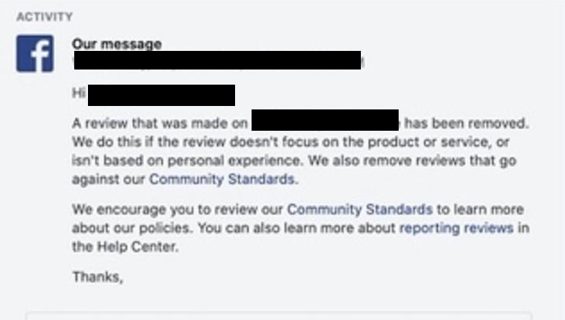 Remove Reviews on Facebook with ReviewVio | Delete Bad Reviews on Facebook